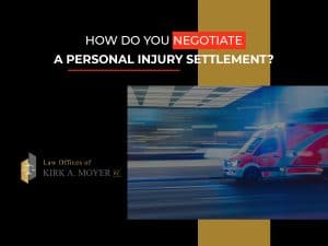 how to negotiate a personal injury settlement